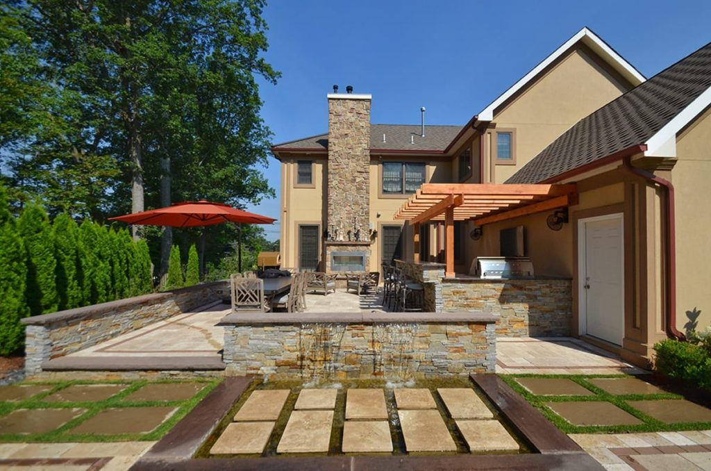 Residential Outdoor Living Spaces-Lewisville TX Professional Landscapers & Outdoor Living Designs-We offer Landscape Design, Outdoor Patios & Pergolas, Outdoor Living Spaces, Stonescapes, Residential & Commercial Landscaping, Irrigation Installation & Repairs, Drainage Systems, Landscape Lighting, Outdoor Living Spaces, Tree Service, Lawn Service, and more.